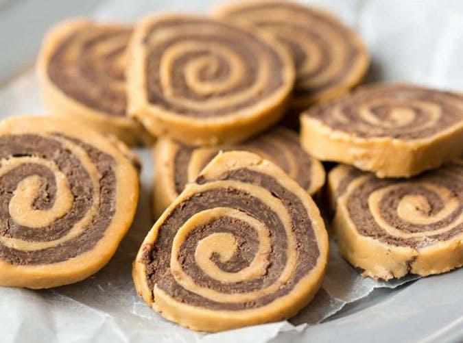 Chocolate Peanut Butter Pinwheels