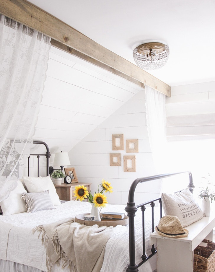 Ordinaire Country Rustic Bed 5