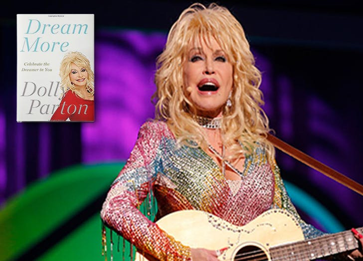 Dolly Parton Dream More Memoir