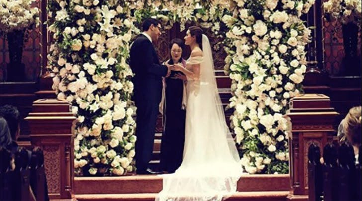'Shameless' Star Emmy Rossum Had the Wedding of Our Pinterest Dreams