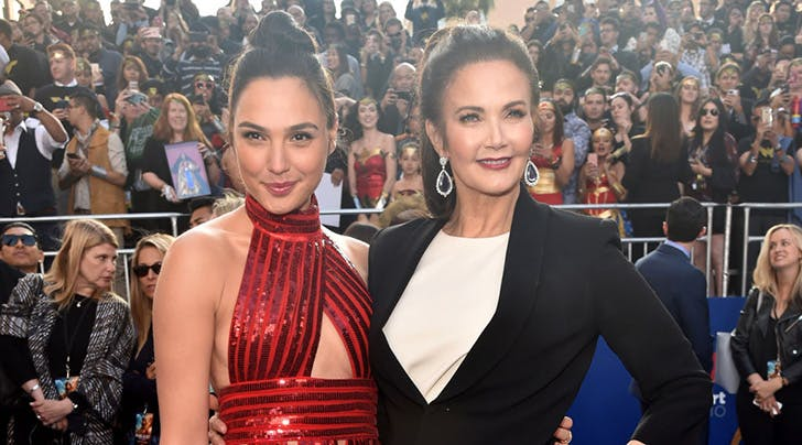 Wonder Women Unite! Gal Gadot and Lynda Carter Join Forces on the Red Carpet