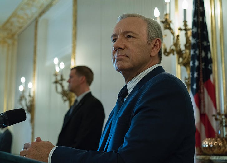 House of Cards Kevin Spacey May 30