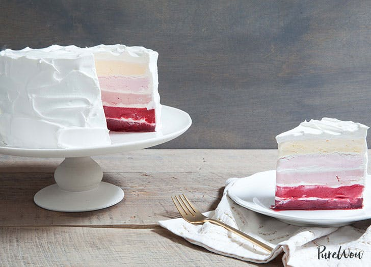 Ice Cream Ombre Cake A