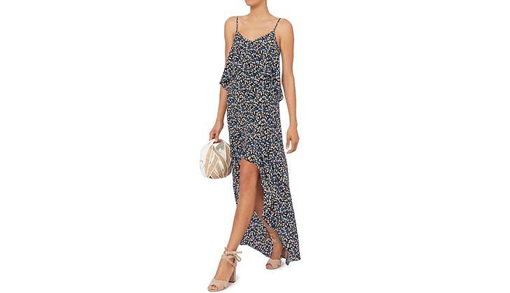 Intermix hi low dress
