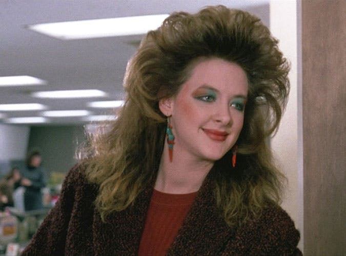 Joan Cusack in Working Girl