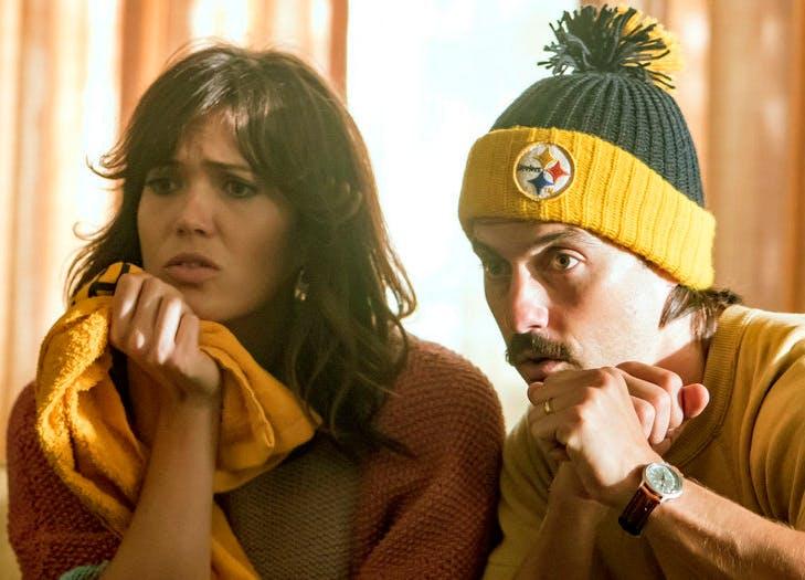 Mandy Moore Milo Ventimiglia This Is Us Steelers.LIST