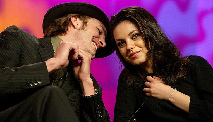 Mila Kunis Ashton Kutcher Cutest Moments 2