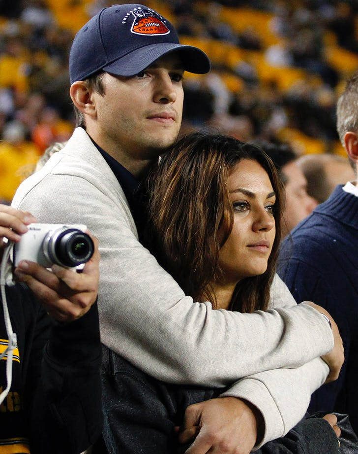 Mila Kunis Ashton Kutcher Cutest Moments 3