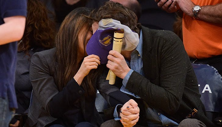 Mila Kunis Ashton Kutcher Cutest Moments 4