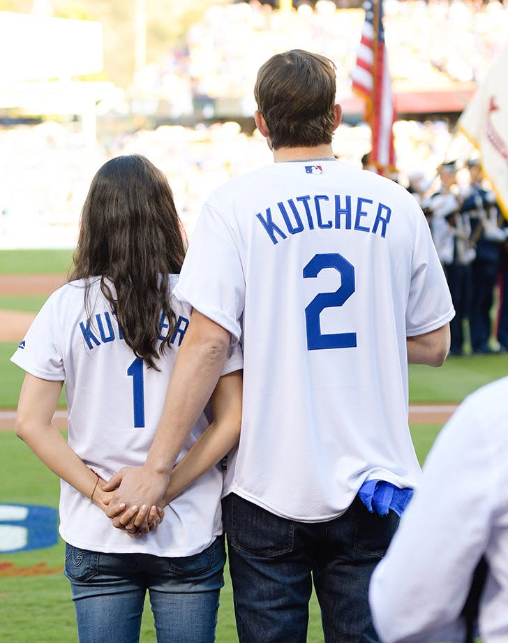 Mila Kunis Ashton Kutcher Cutest Moments 7
