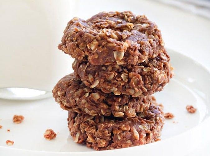 No Bake Chocolate Peanut Butter Cookies 600x900