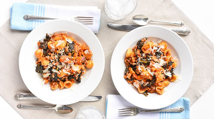 One-Pot Orecchiette Ragu