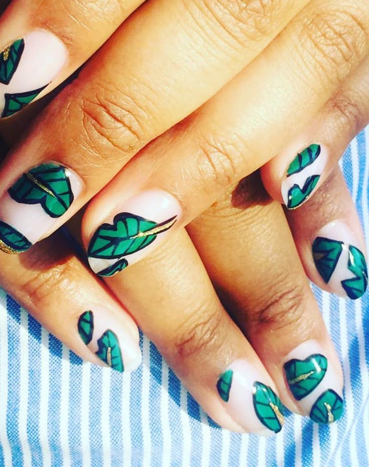 PALM FROND NAILS