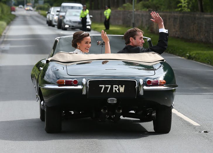Pippa MIddleton James Matthews Ride Of After Wedding