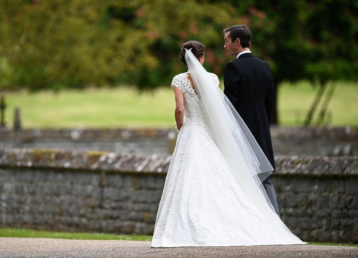 Pippa Middleton James Matthews After Wedding Ceremony