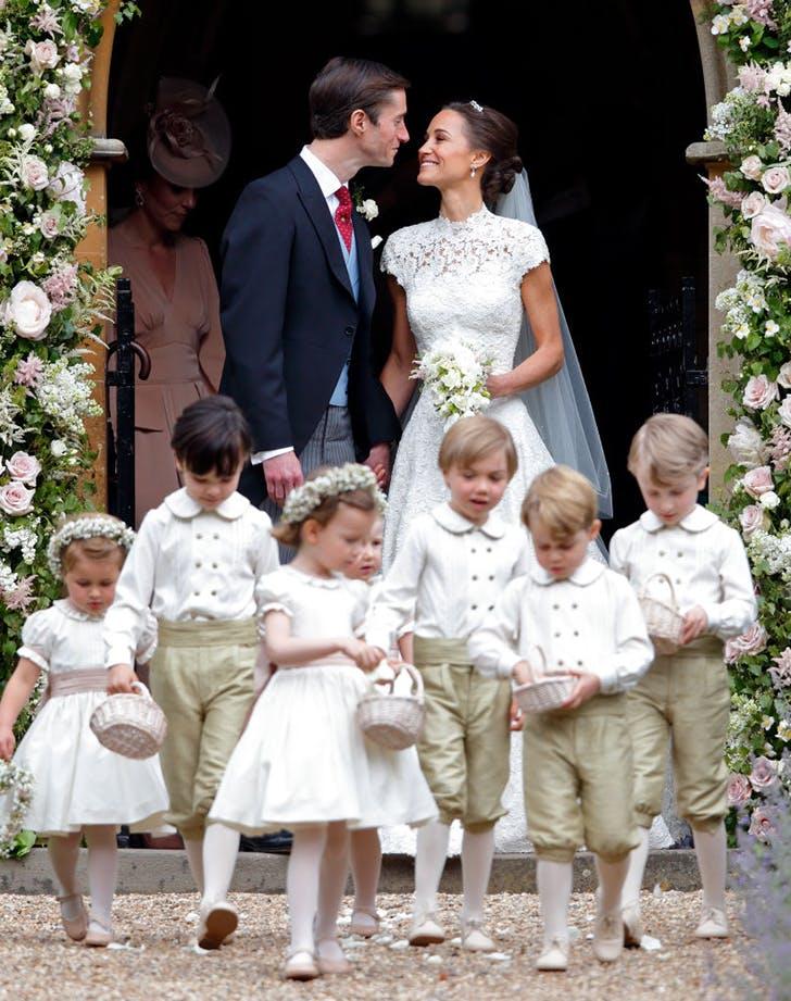 Pippa Middleton James Matthews After Wedding Ceremony Processional.l