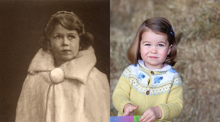 Her Mini Majesty: Princess Charlotte Bears Uncanny Resemblance to Queen Elizabeth II