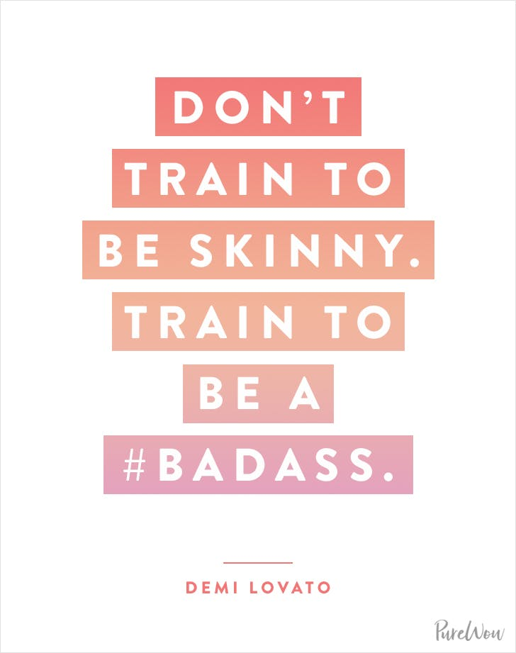 Workout Quotes Unique 48 Celebrity Workout Quotes To Inspire You PureWow