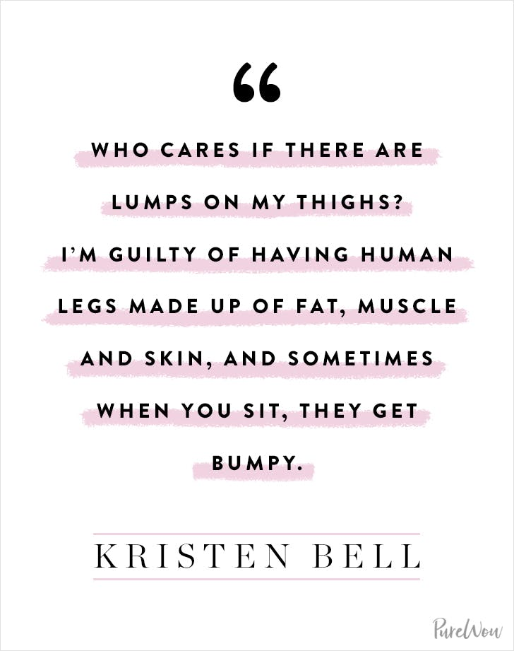 Empowering Quotes Captivating 10 Honest And Inspiring Body Image Quotes  Purewow