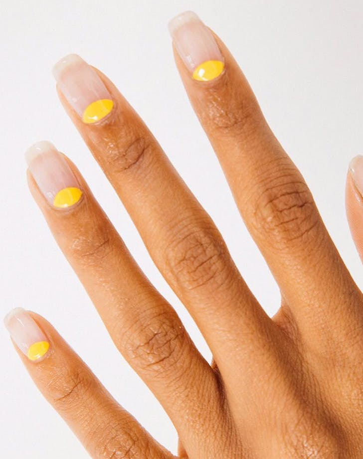 A Ray of Sunshine - The 9 Best Summer Nail Art Ideas In 2017 - PureWow