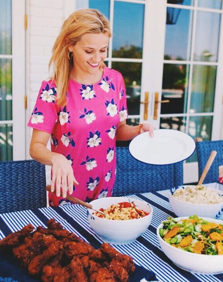 Reese Witherspoon BBQ