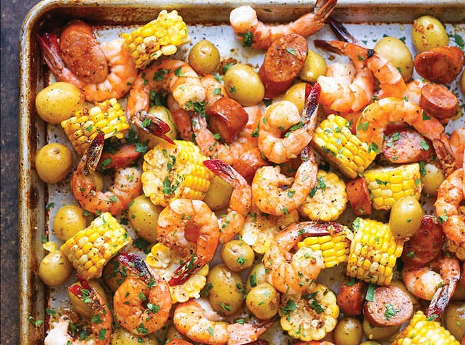 Sheet Pan Shrimp Boil 501