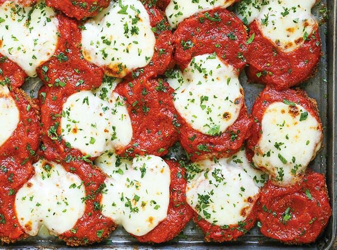 Sheet Pan Zucchini Parmesan 5011
