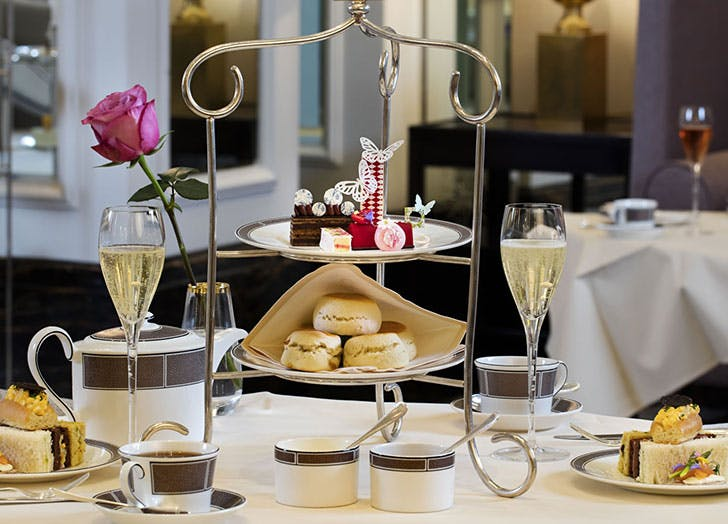 The Langham Palm Court afternoon tea