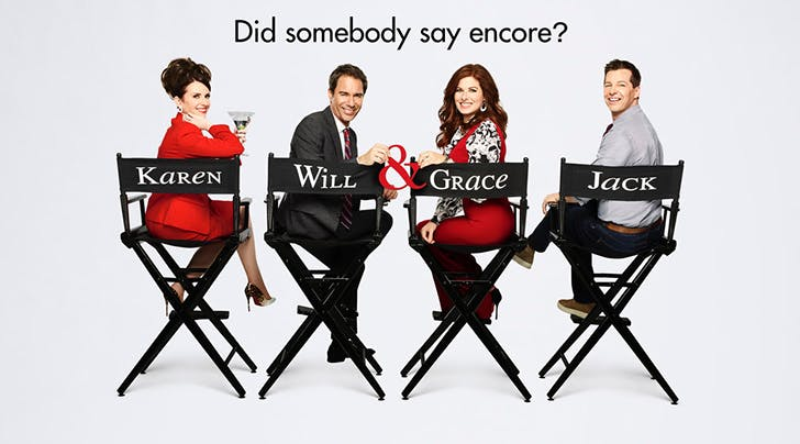 Will and Grace Renewal NBC