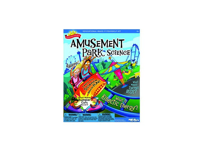 amusement park science toy for kids