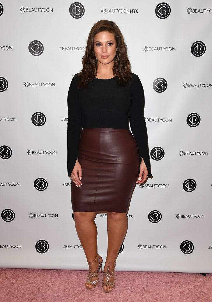 ashley graham styling tip pencil skirt