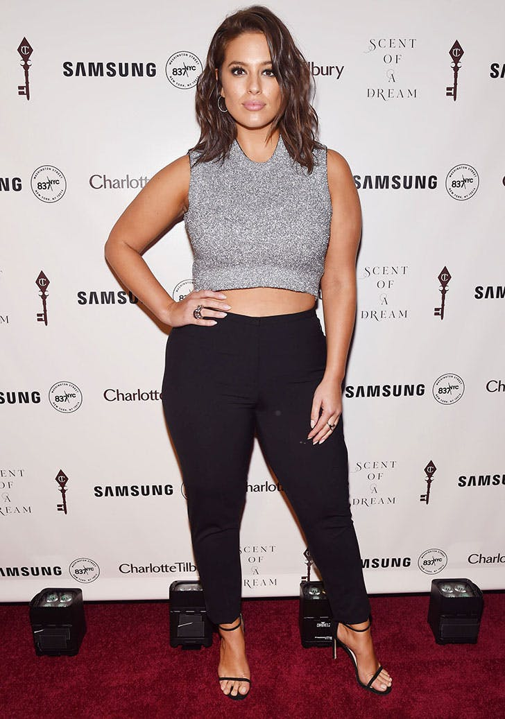 ashley graham styling tips crop top