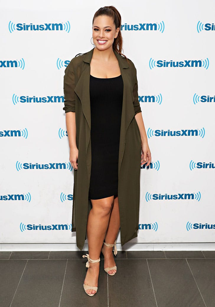 ashley graham styling tips duster