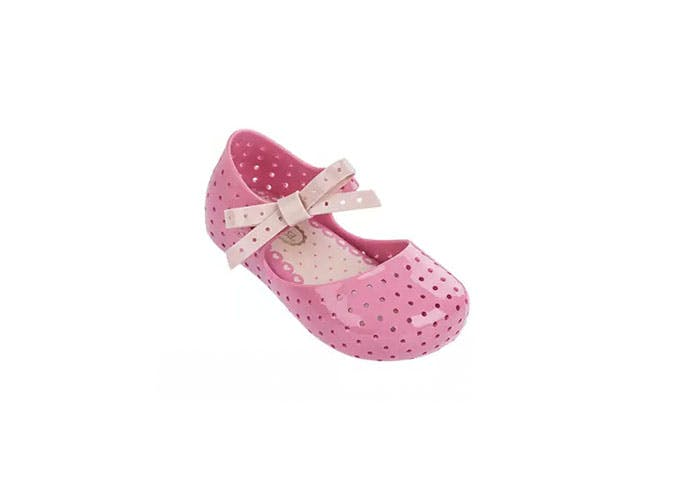 baby perforated mary janes kids shoes
