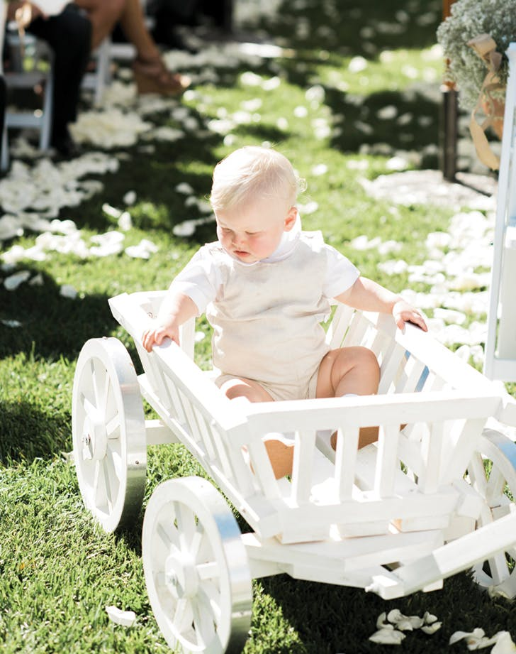 10 best Baby wedding carriages images on Pinterest | Baby ... |Flower Girl Wagon Wedding Party