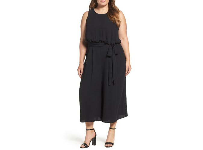 black vaince camuto jumpsuit
