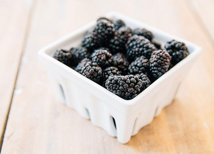 blackberries fruit storage