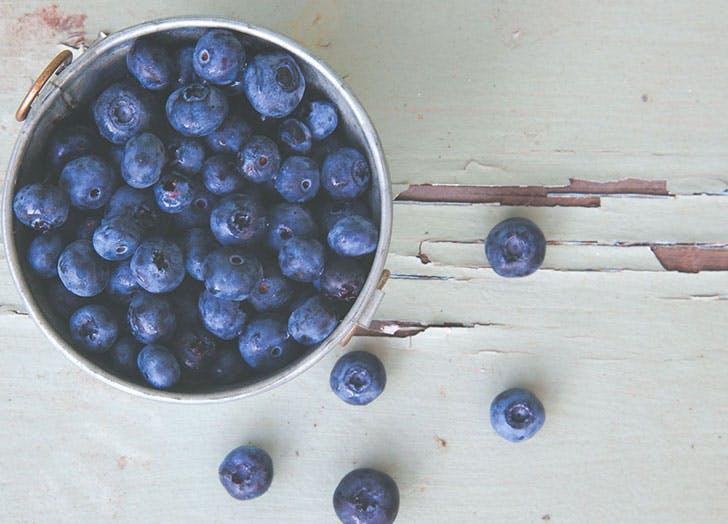 blueberries fruit storage