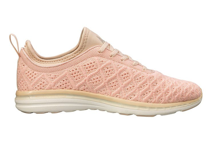 blush sneakers apl