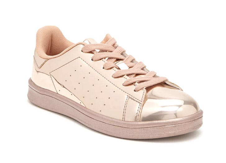 blush sneakers forever21