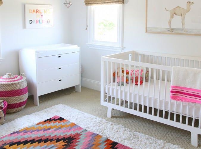boho chic baby nursery trends