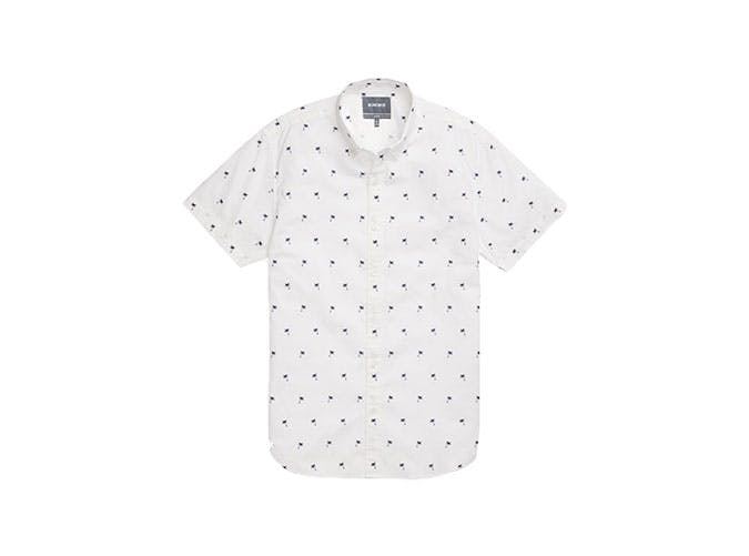 bonobos palm print shirt
