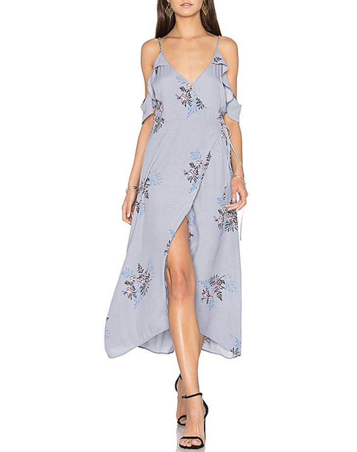 bridesmaid dress floral