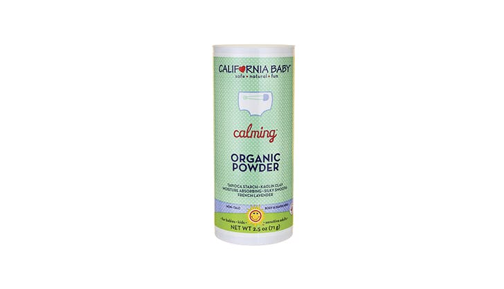 california baby chafing powder