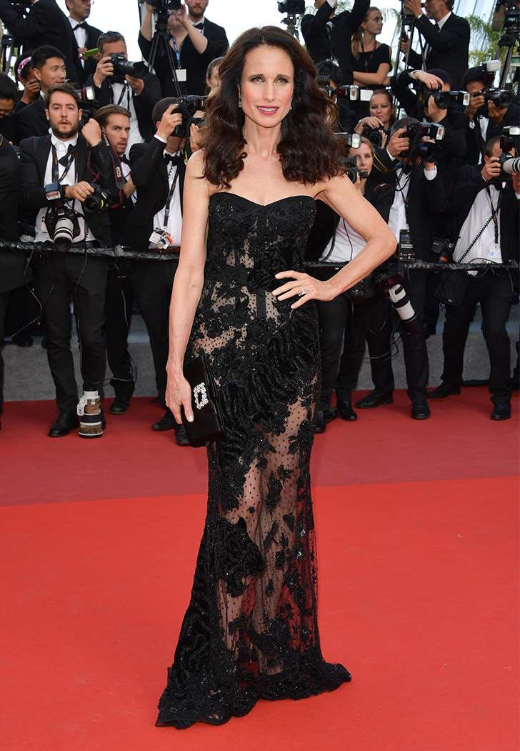 cannes film fest fashion andie macdowell