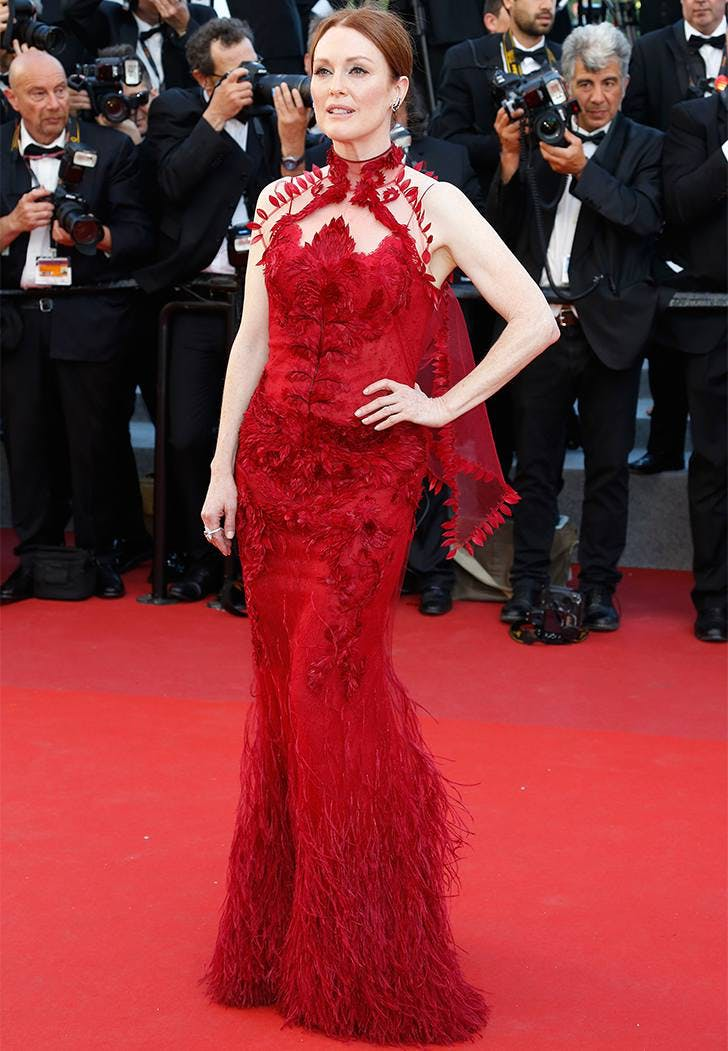cannes film fest fashion julianne moore