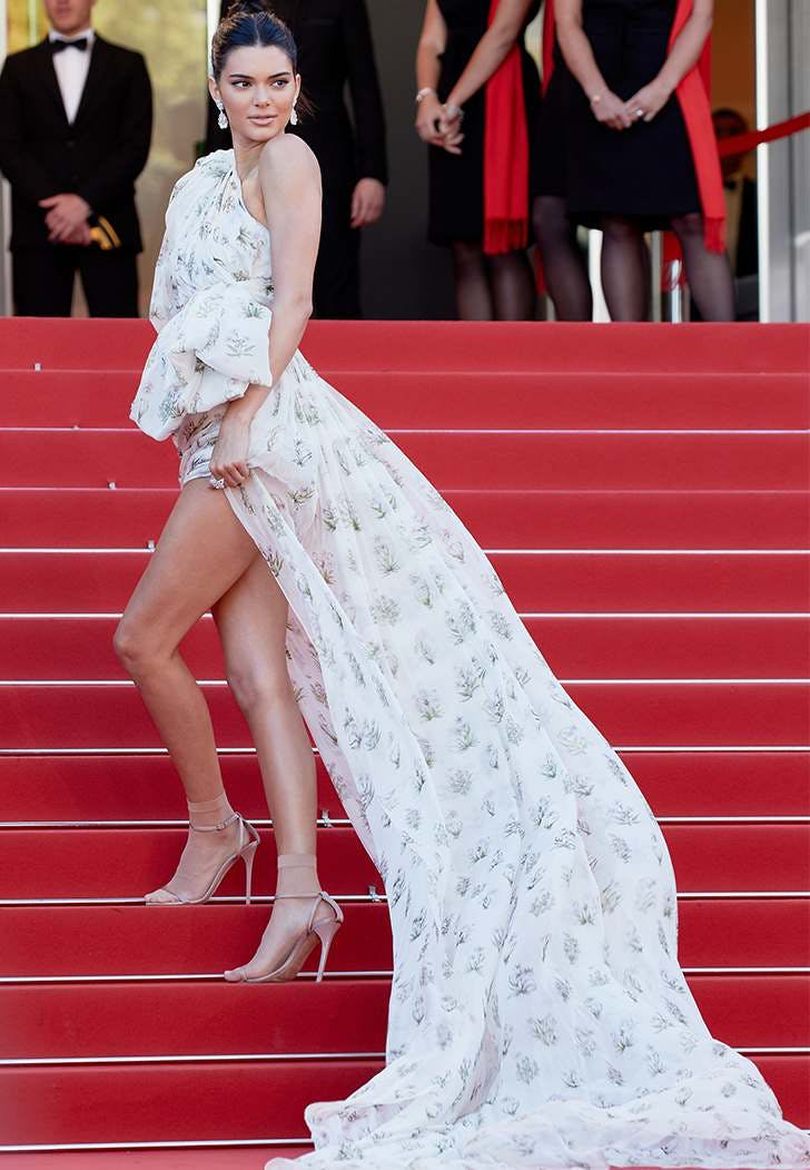 cannes film fest fashion kendall jenner