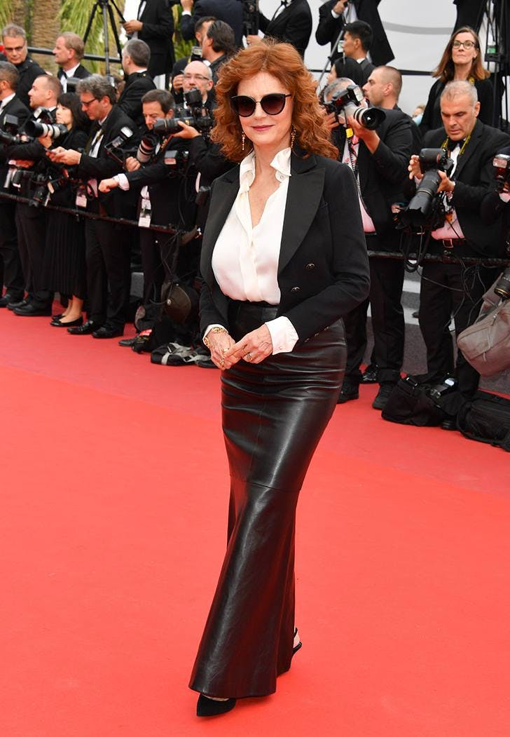 cannes film fest fashion susan sarandon