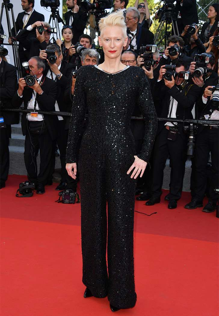 cannes film fest fashion tilda swinton