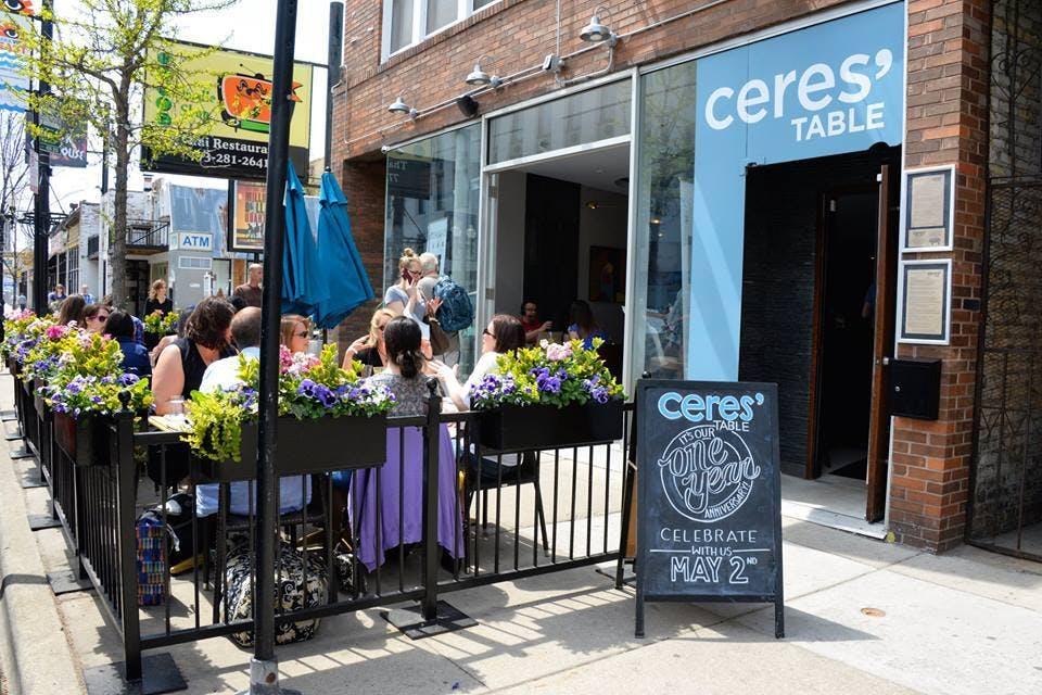 ceres table chicago patio restaurants